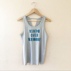 Champion Tops - Champion mind over matter gray tank